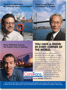 CaroTrans Friends ad