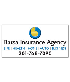 Barsa Insurance Agency sign